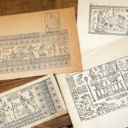 エジプト柄の魅力と歴史